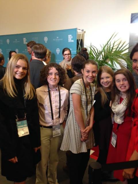 Original Teen Press team member with the newly created Napa Valley Teen Press!