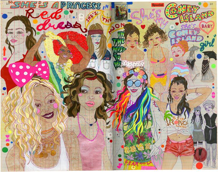 Ledger - Coney Island Girls.jpg
