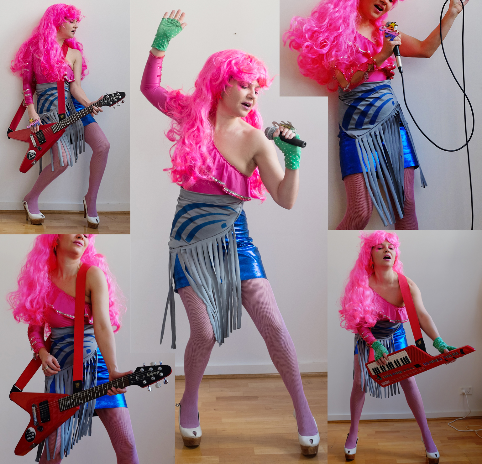 Truly Outrageous Jem photoshoot!