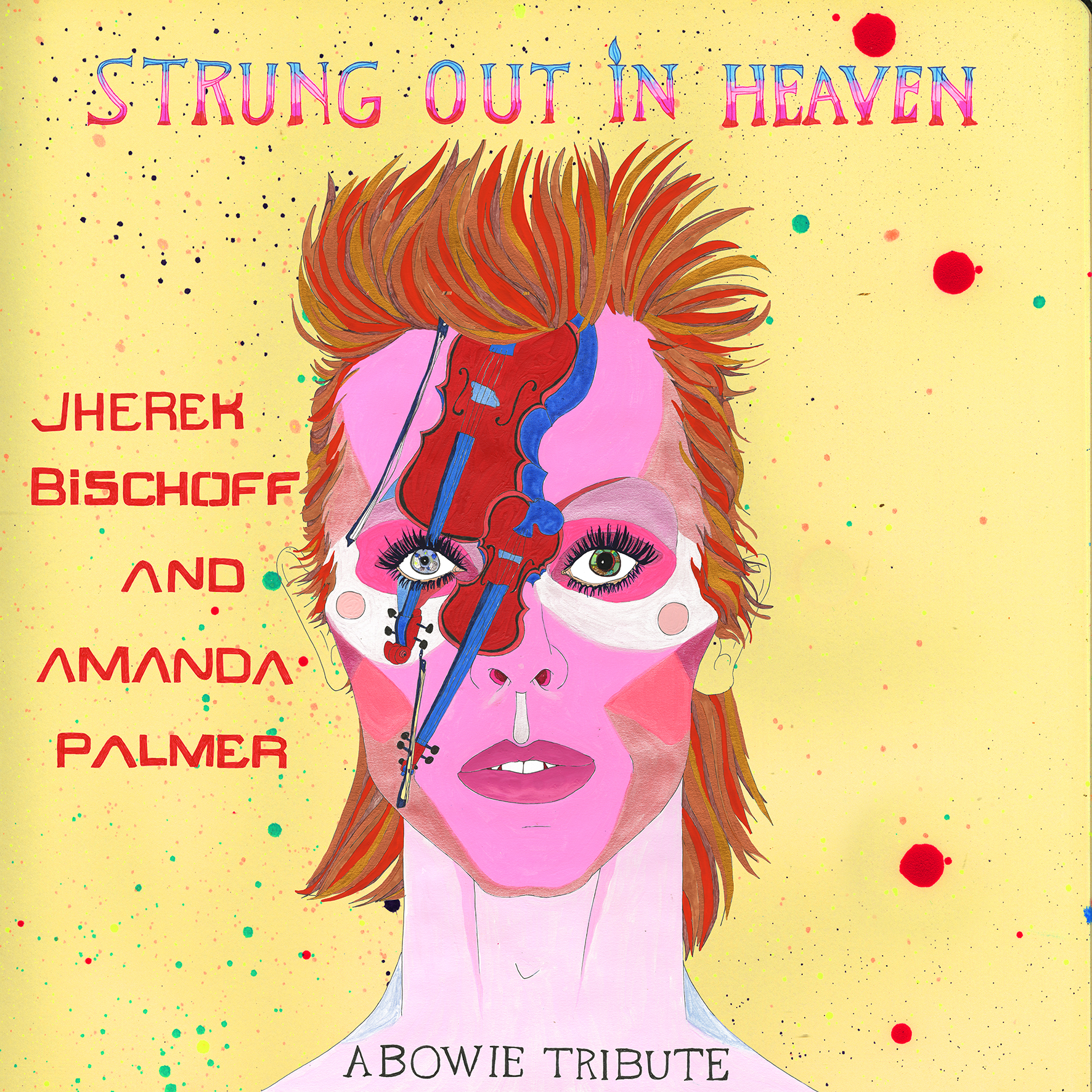 Strung Out In Heaven - A Bowie Tribute by Amanda Palmer & Jherek Bischoff