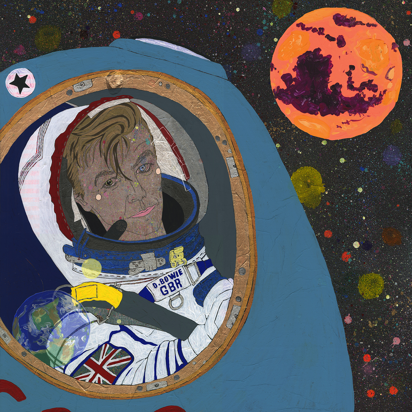 """Art for the song """"Space Oddity"""""""