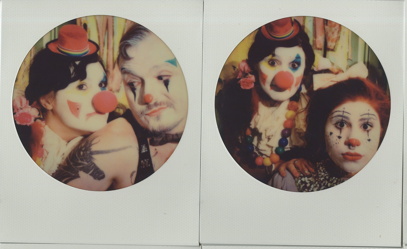 CLOWN POLAROIDS COL circle .jpg