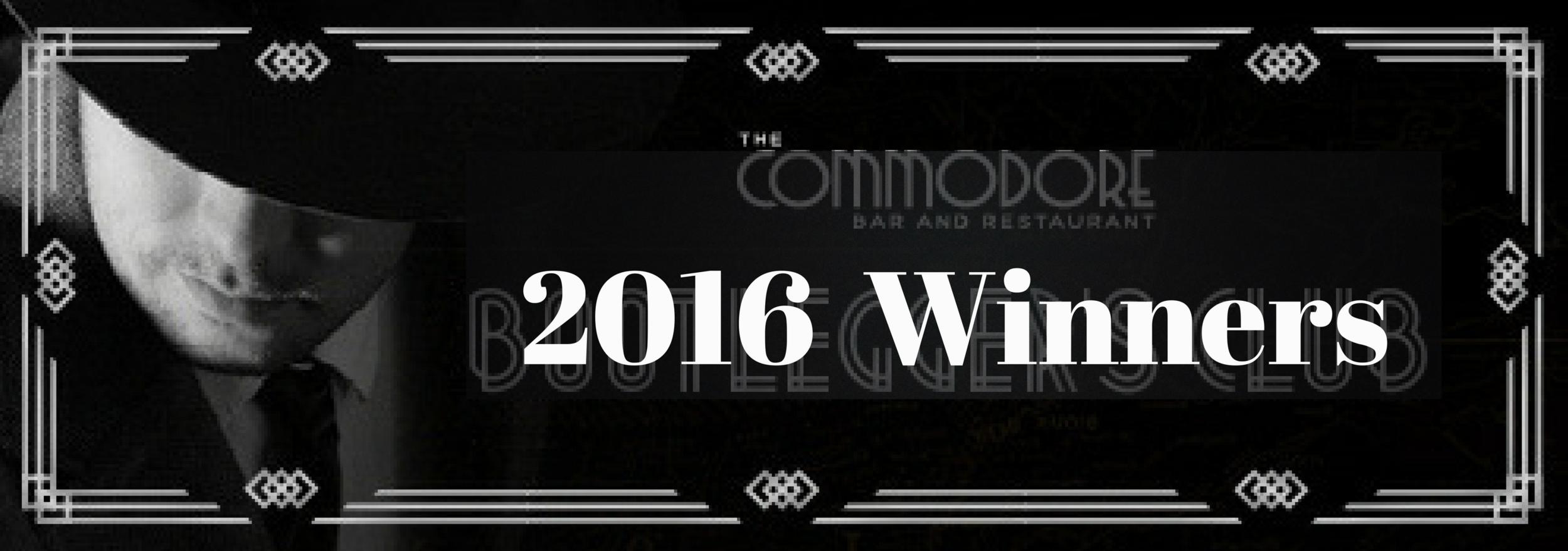 2016 Bootlegger Winners