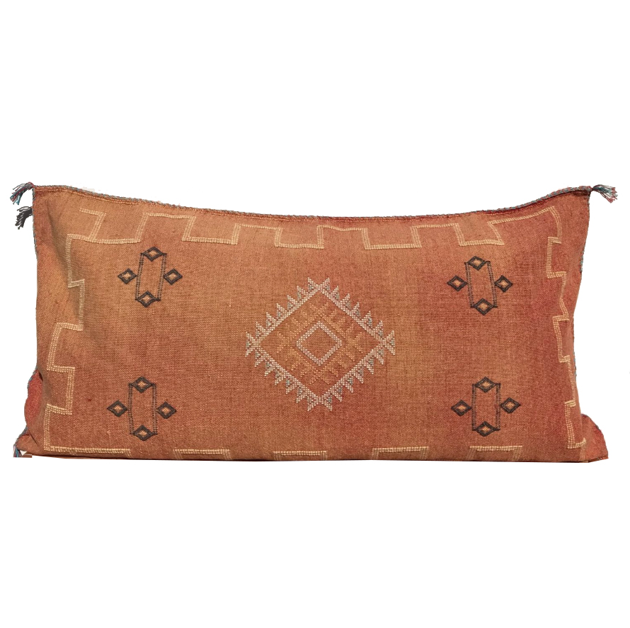 "Sabra Lumbar Pillow- 20""x36"""