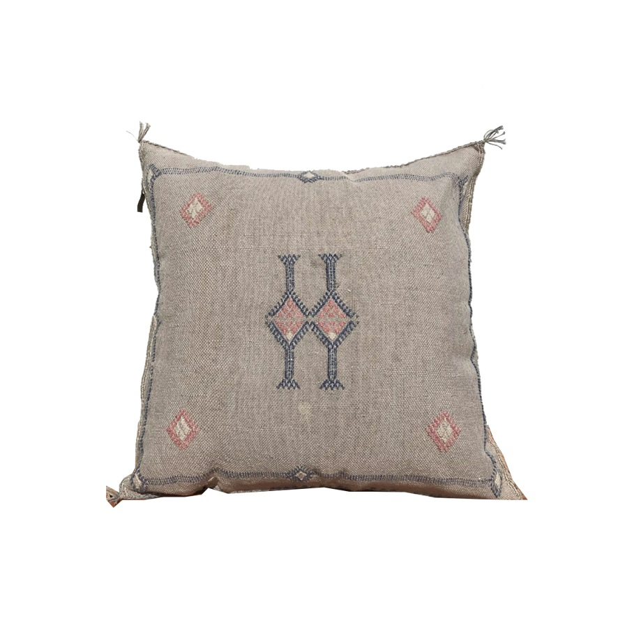 "Moroccan Silk Pillow-20""x20"""