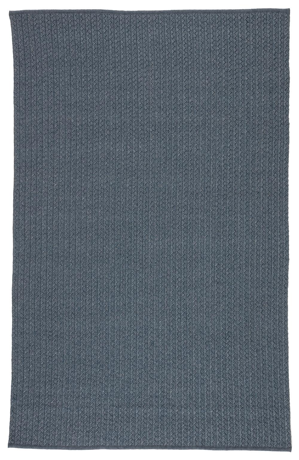 Lorna Indoor/Outdoor Rug, Blue/Gray