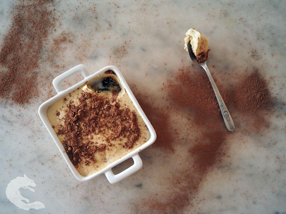 dairy free tiramisu via Lila Wolff