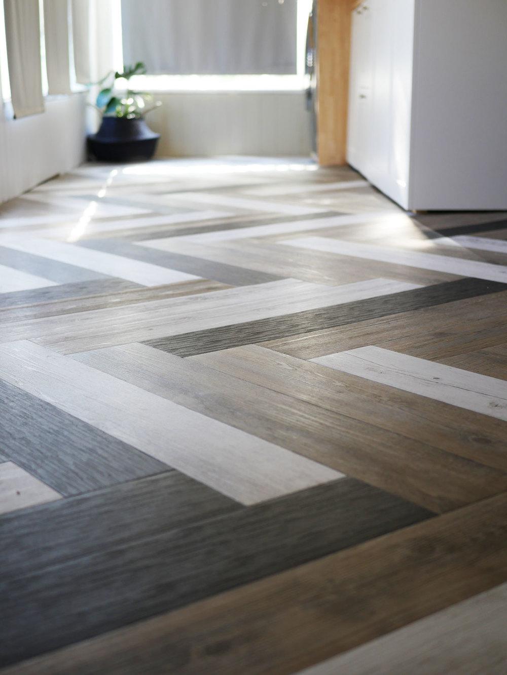 Vinyl Stick Down Planks, Stick Together Laminate Flooring