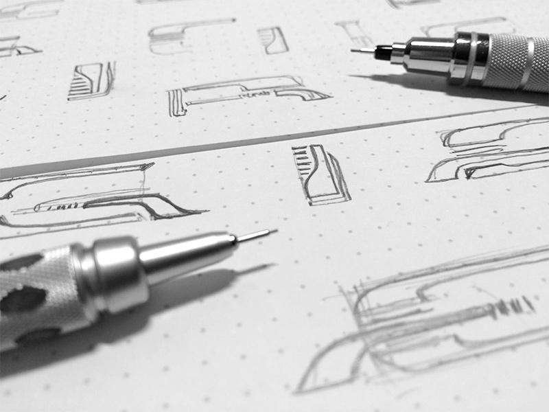 Thumbnail sketches.
