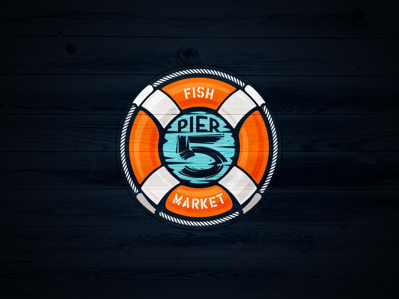 Category of business: Fish market. Published in:  Logopond v1 •   Logonest 02  •  I Heart Logos Season Two