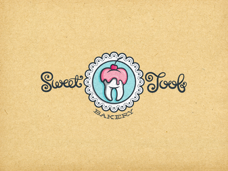 Category of business: Bakery. Unused proposal. Published in:  Design: Logo  •  I Heart Logos Season Three