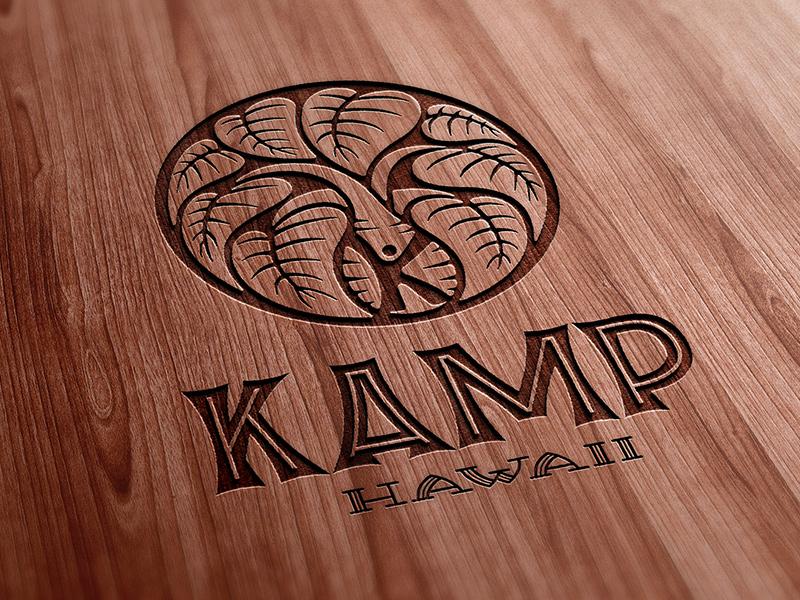 Laser-etched wood