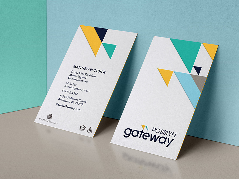 Rosslyn Gateway business cards