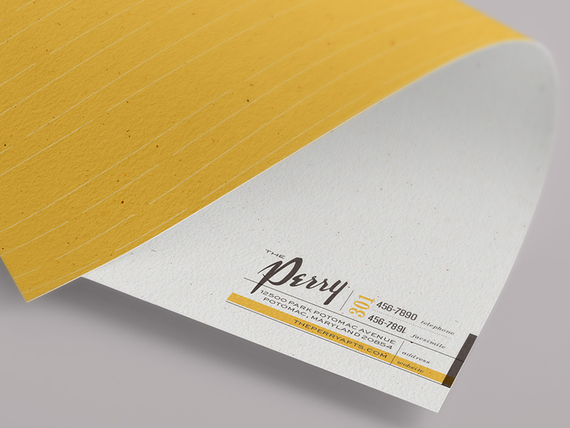The Perry letterhead
