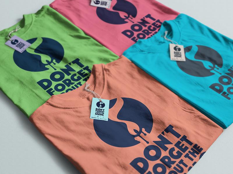 T-shirts, clean, various colors.