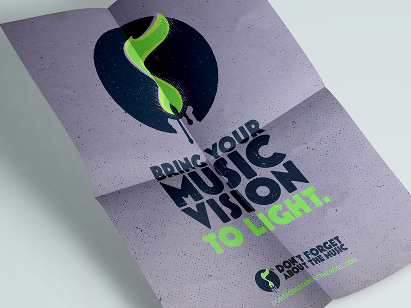 Don't Forget About the Music poster