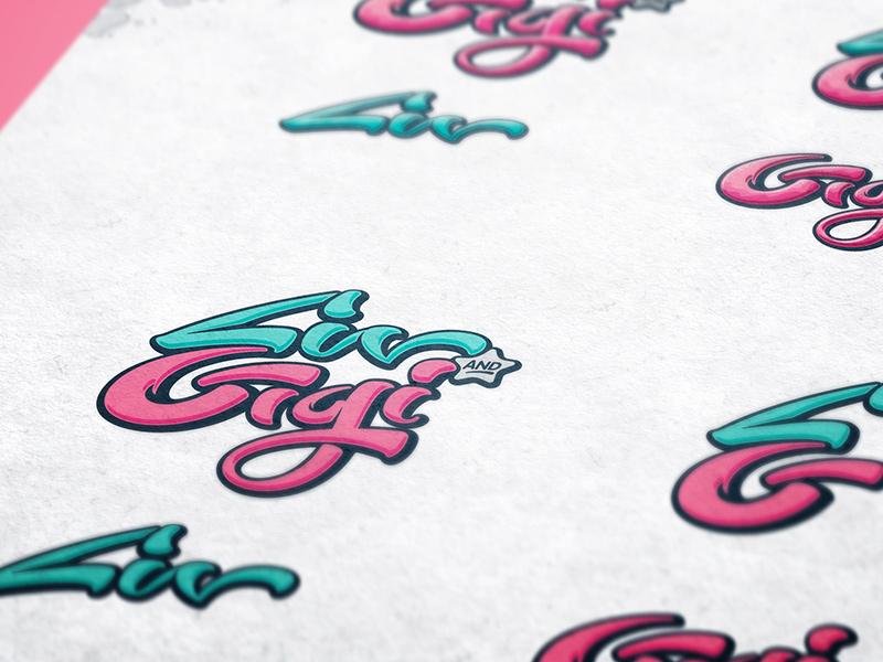 Logo color variations detail.