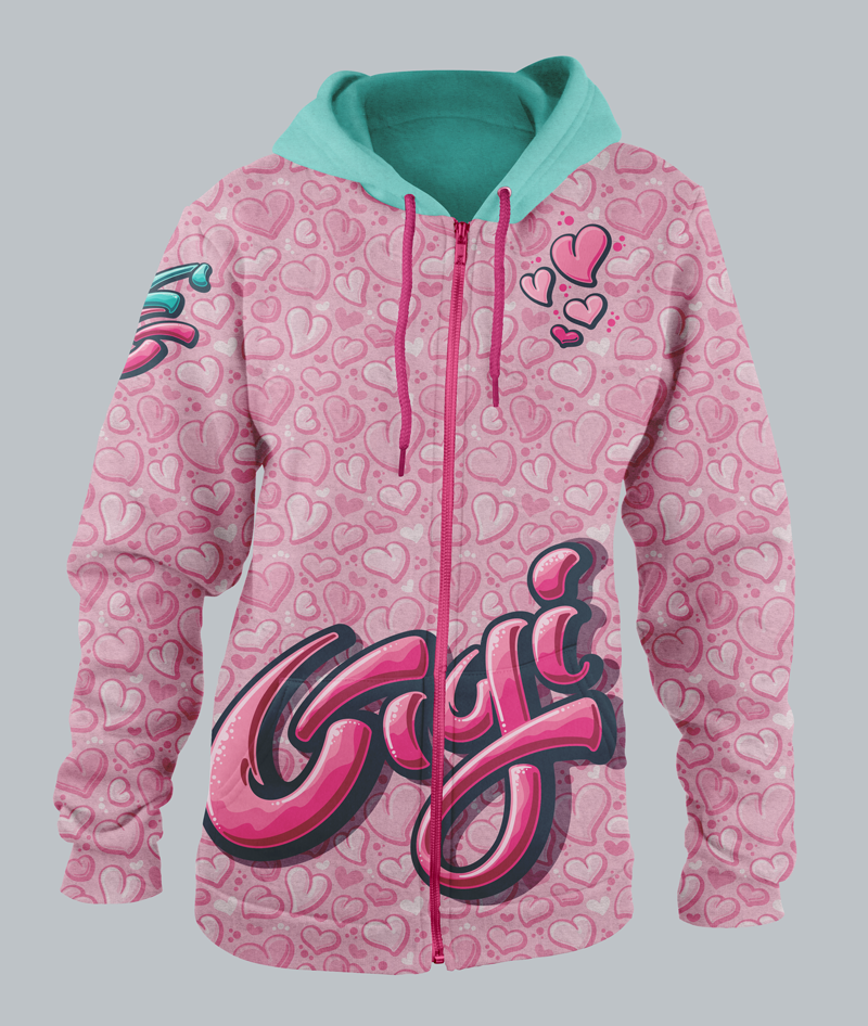 Gigi-specific hoodie.