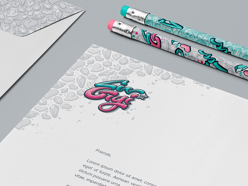 Stationery suite details