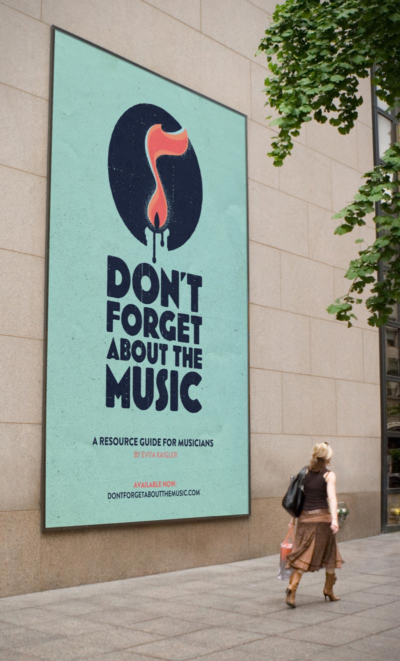 Billboard, logo as the hero.