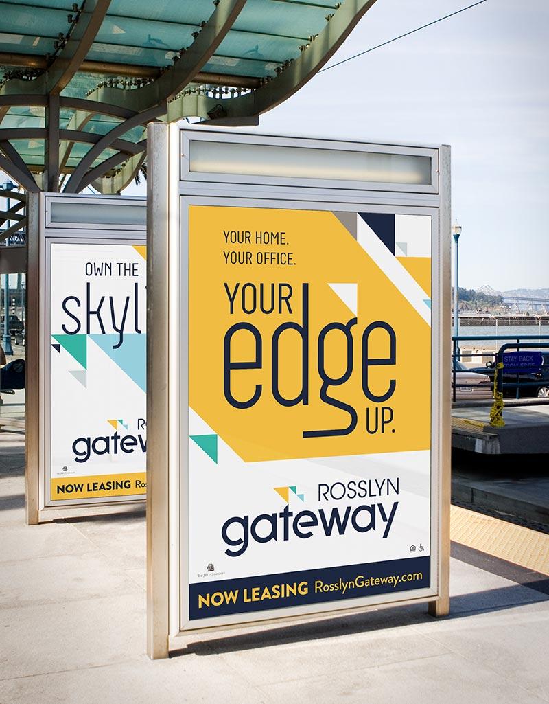 Transit advertising.
