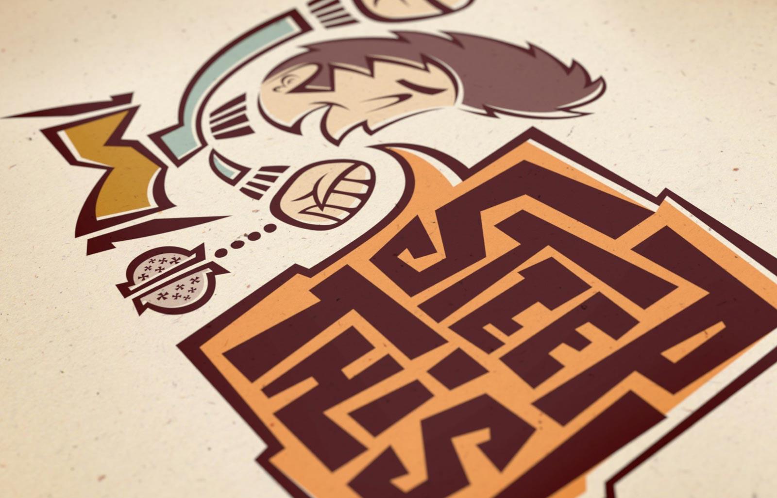 Steep This! main logo detail
