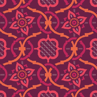 Indian Jali pattern