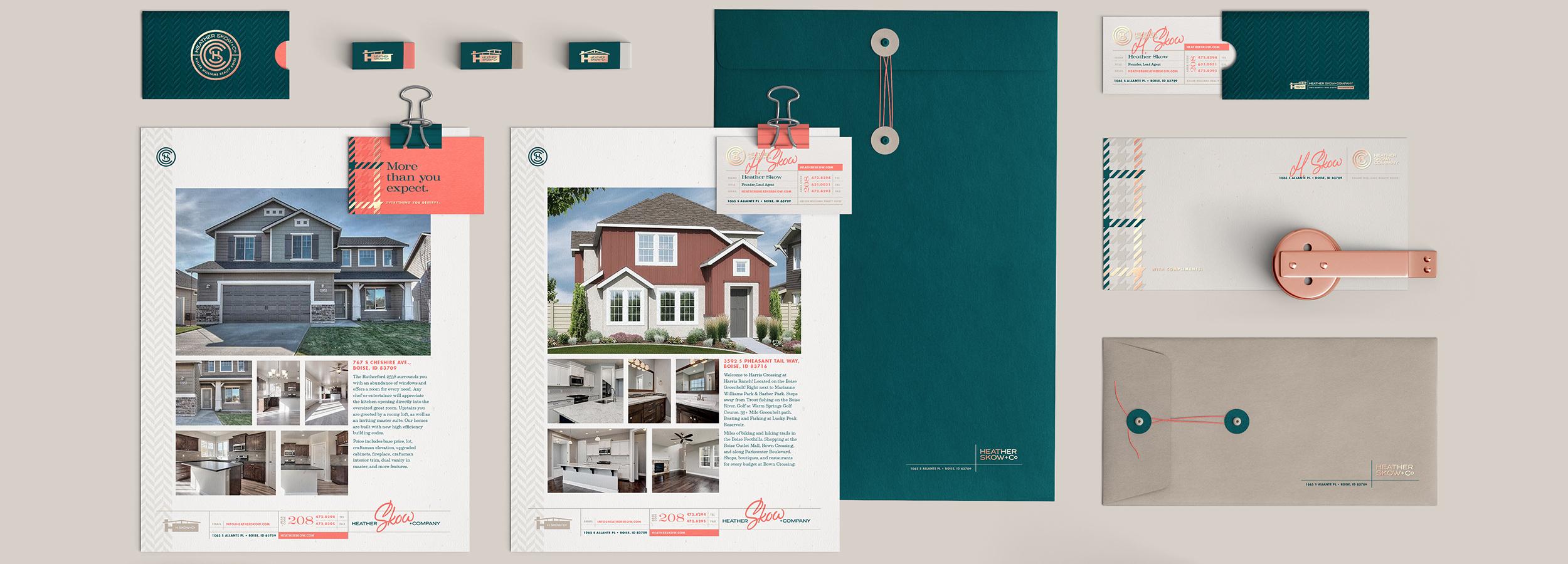 Heather Skow + Co. – Real estate brokerage branding