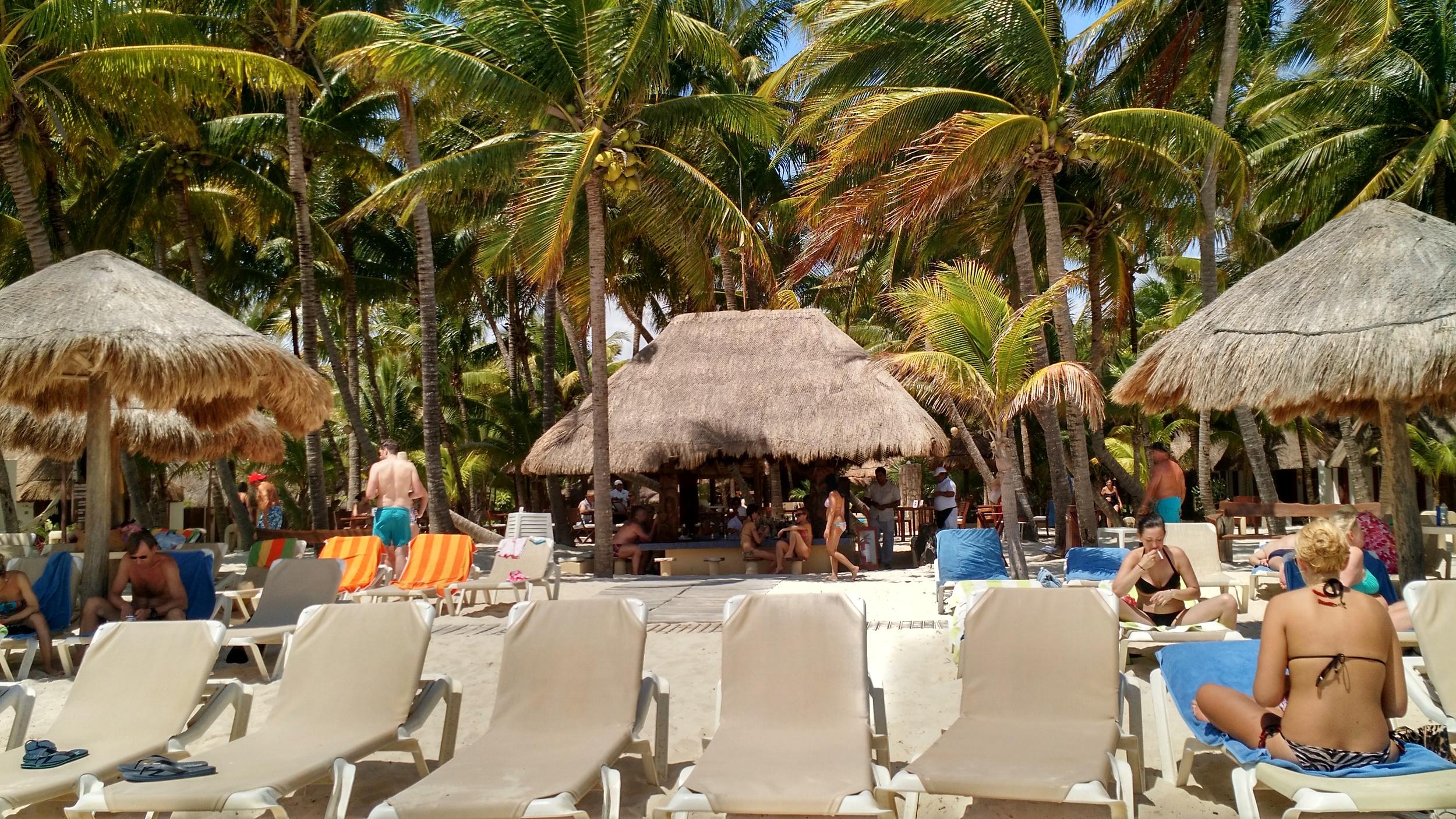 One of Playa's manybeachside resorts
