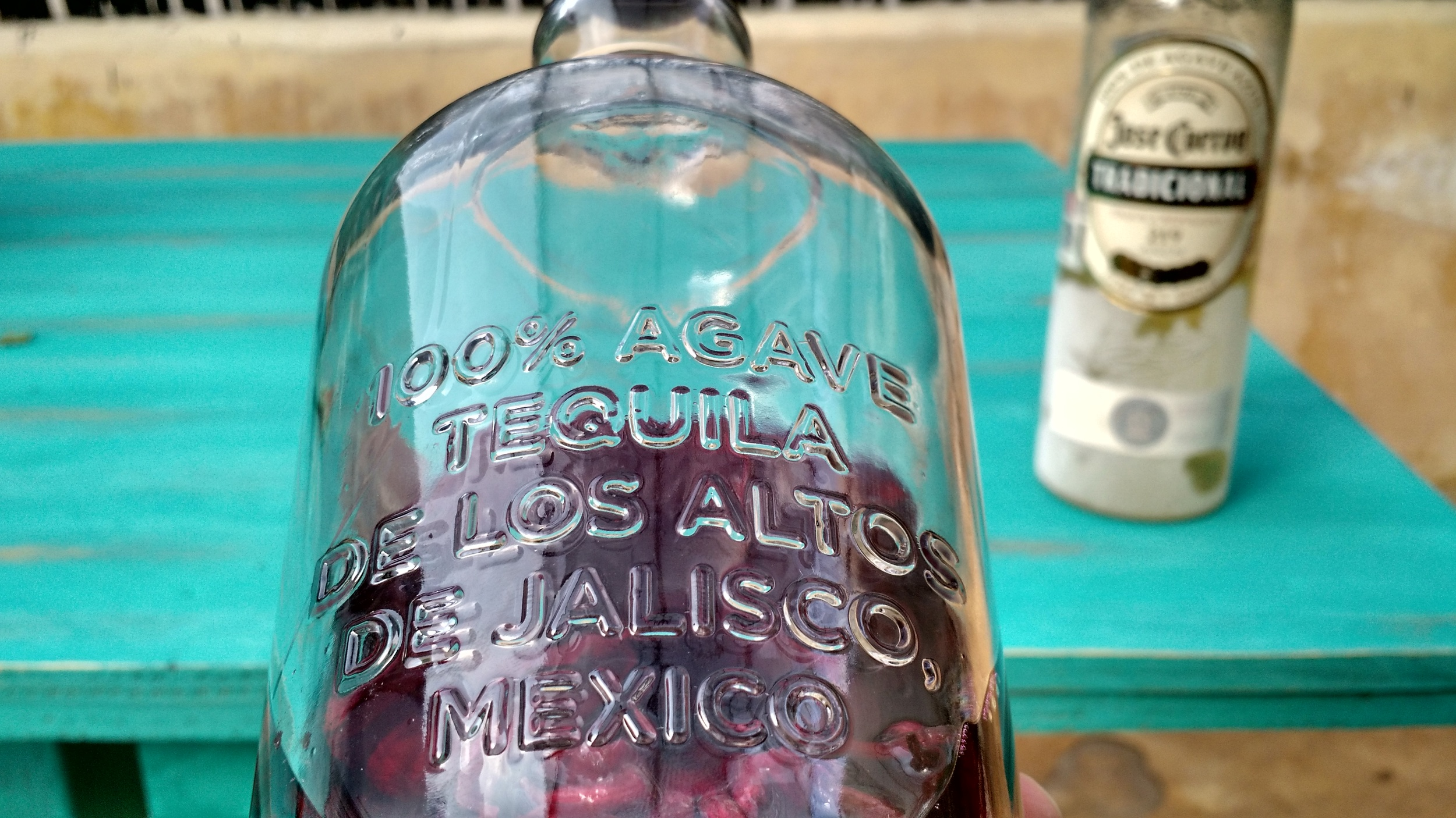 """Note that every bottle of """"real tequila"""" will indicate such on the bottle."""