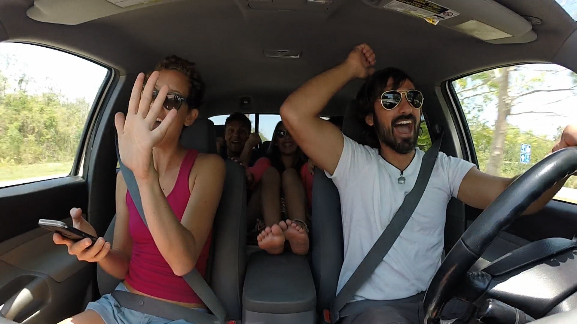 Driving to Bacalar