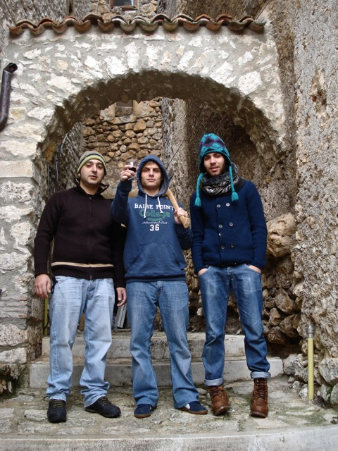 My friends & I in Italy