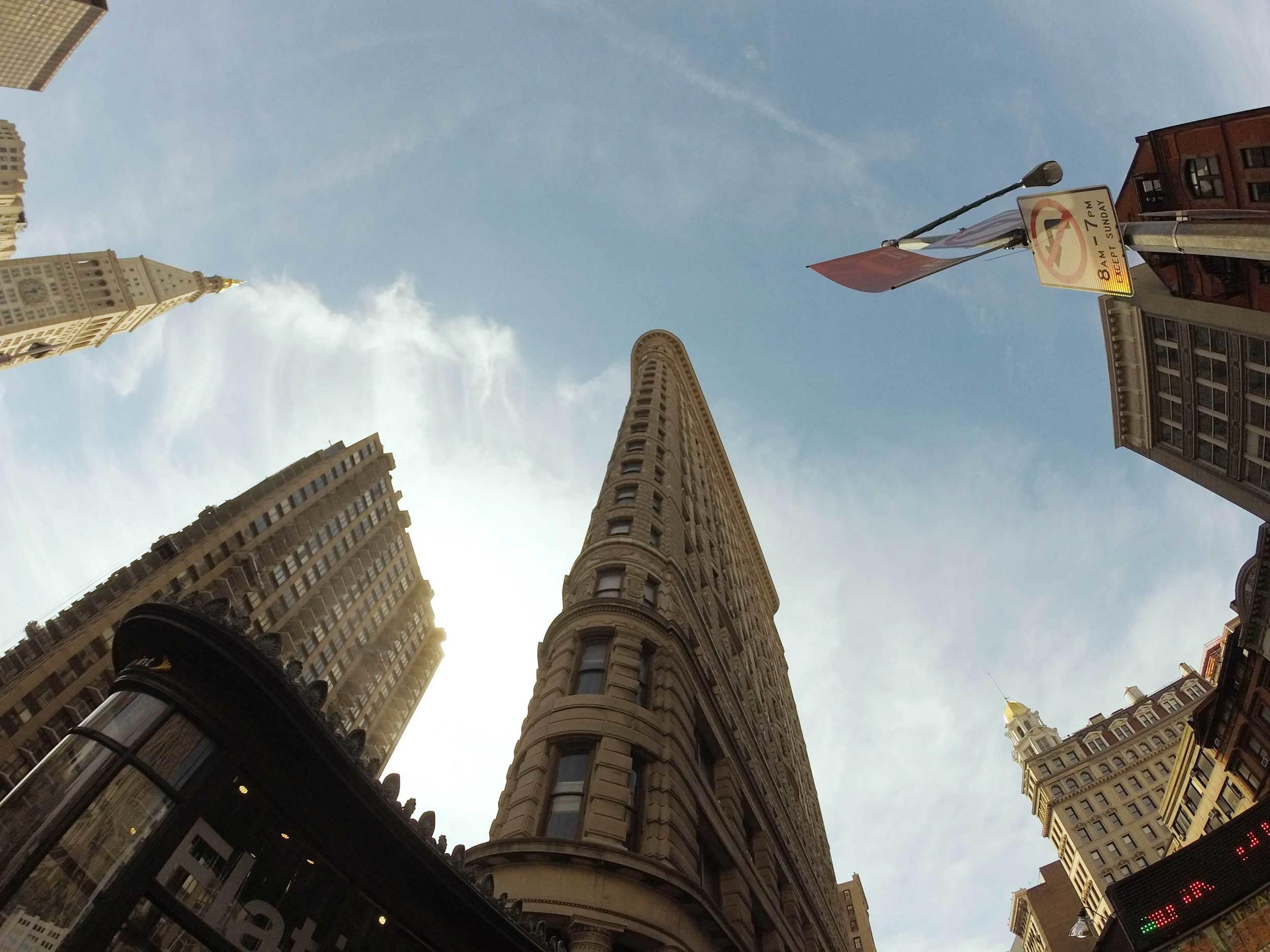 The Flatiron Building, Manhattan