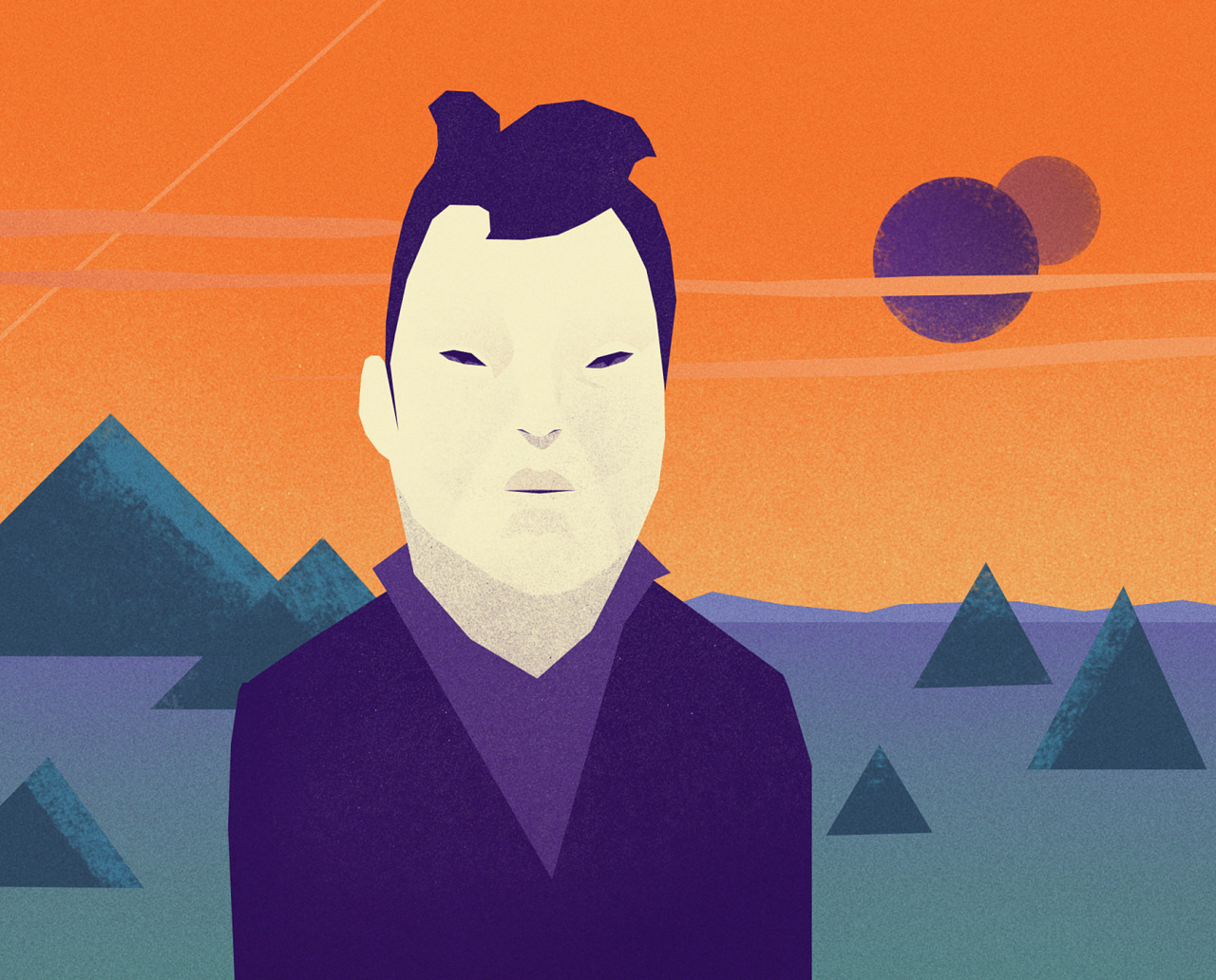 DAY 6    Extraplanetary businessman.