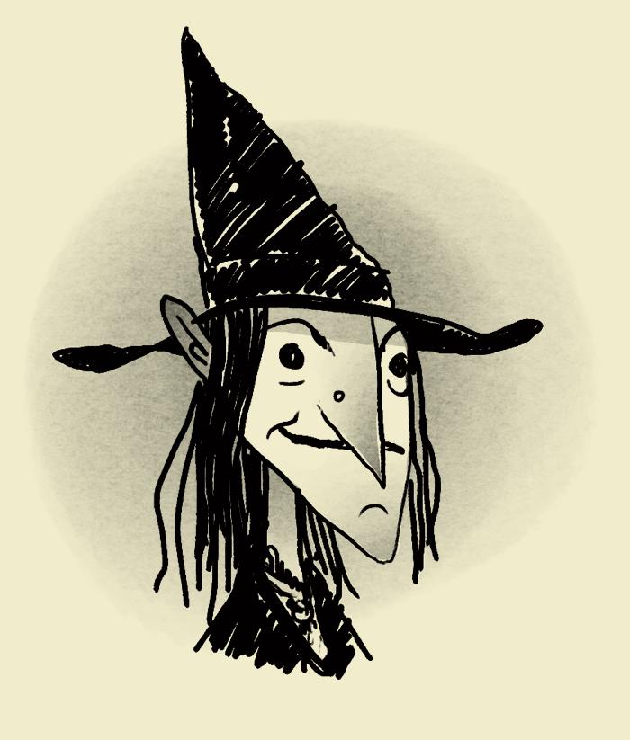 Witch!