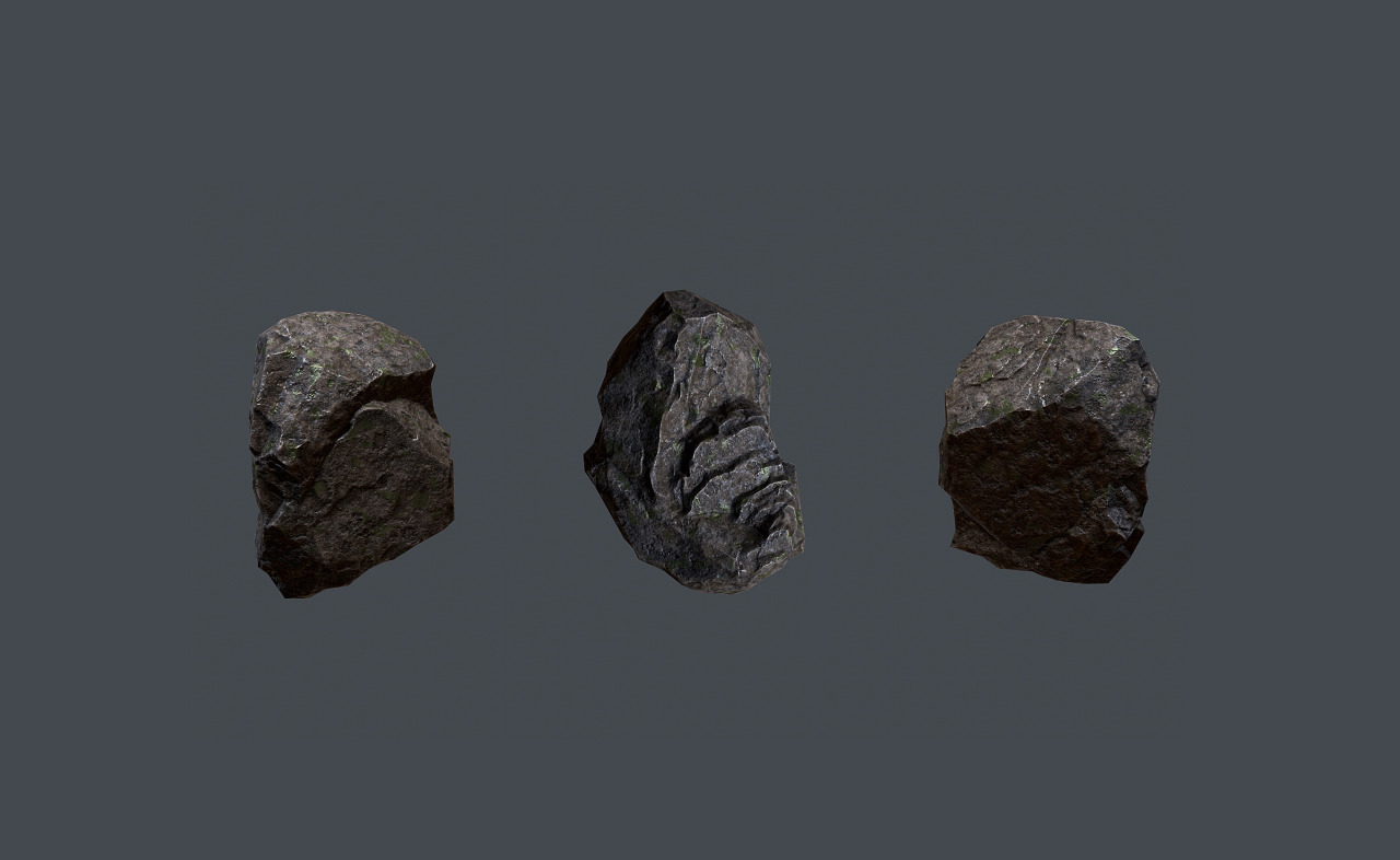 Sculpted up this here rock so I could have something to play around with in Unreal Engine 4. I'm really looking forward to seeing how things have changed since the olden days using UE3 in school.