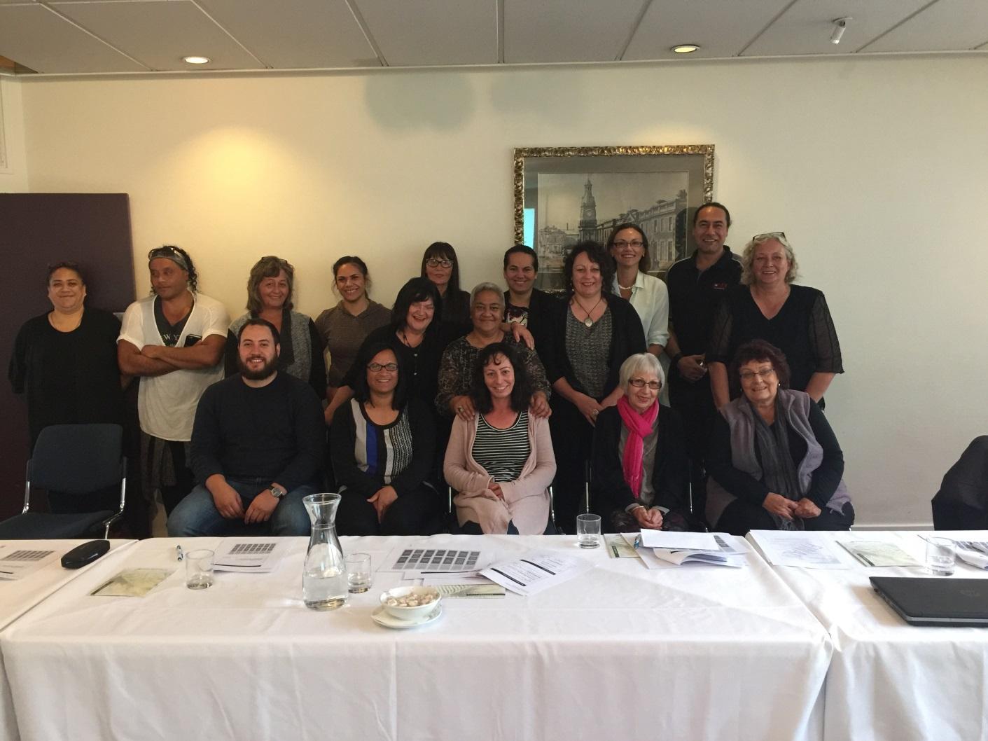 Te Putahitanga training in RBA, Scenic Hotel, Dunedin