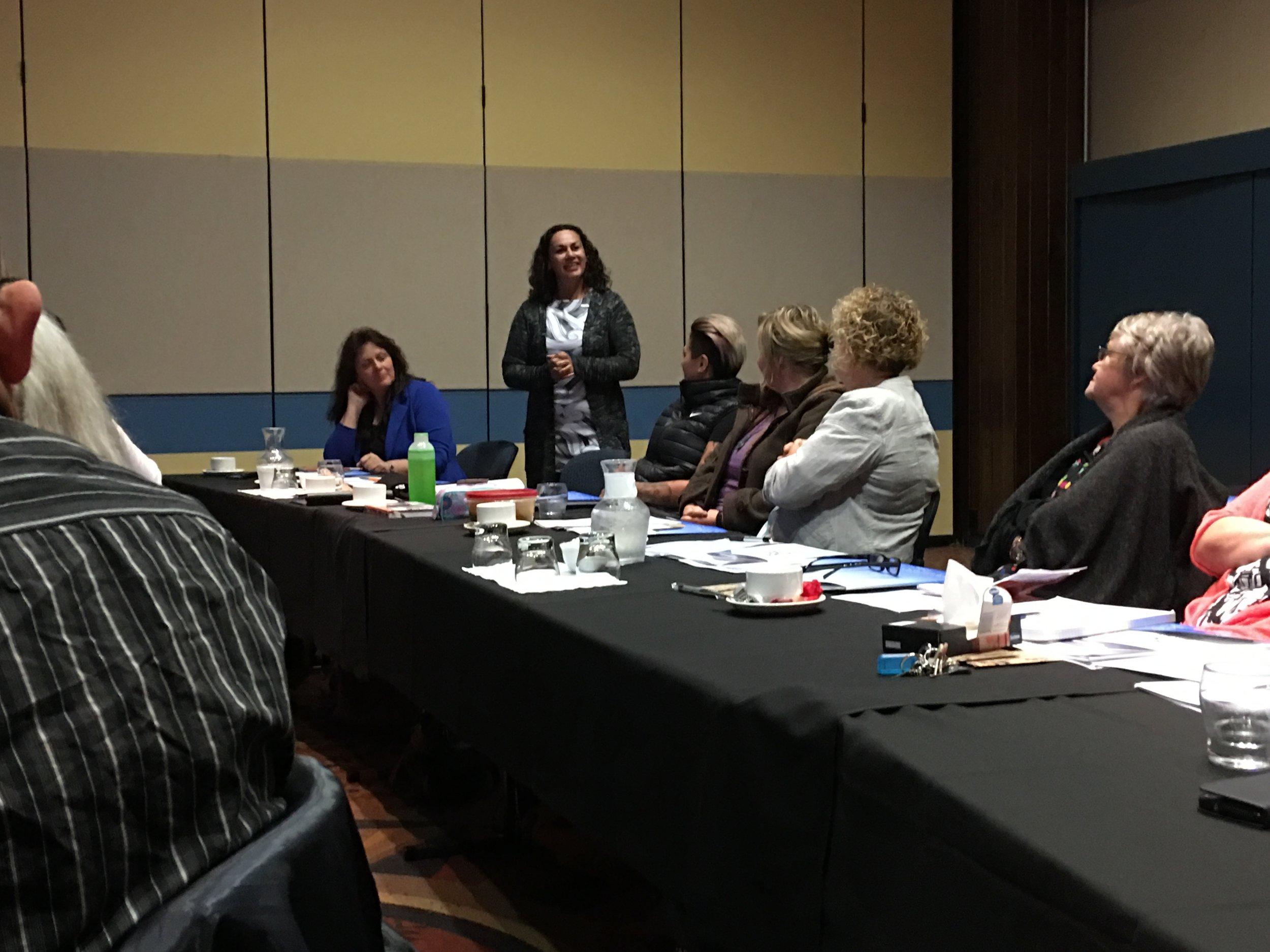 Joyce Manahi talking about Try Whānau and its impact with whānau.