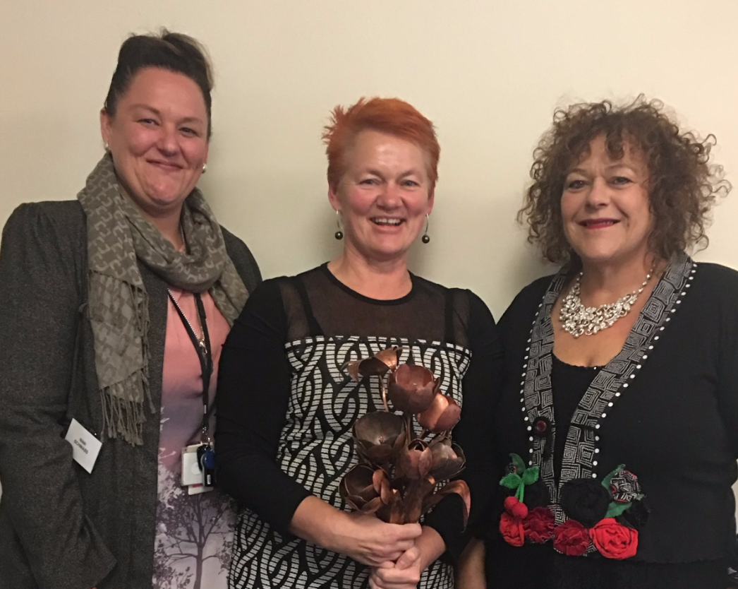 Pictured: Nikki Schwass   Manager Maori Services   Southern Region Jennie Farrar-de Wagt   Team Manager Learning and Development Service Delivery   Southern Region
