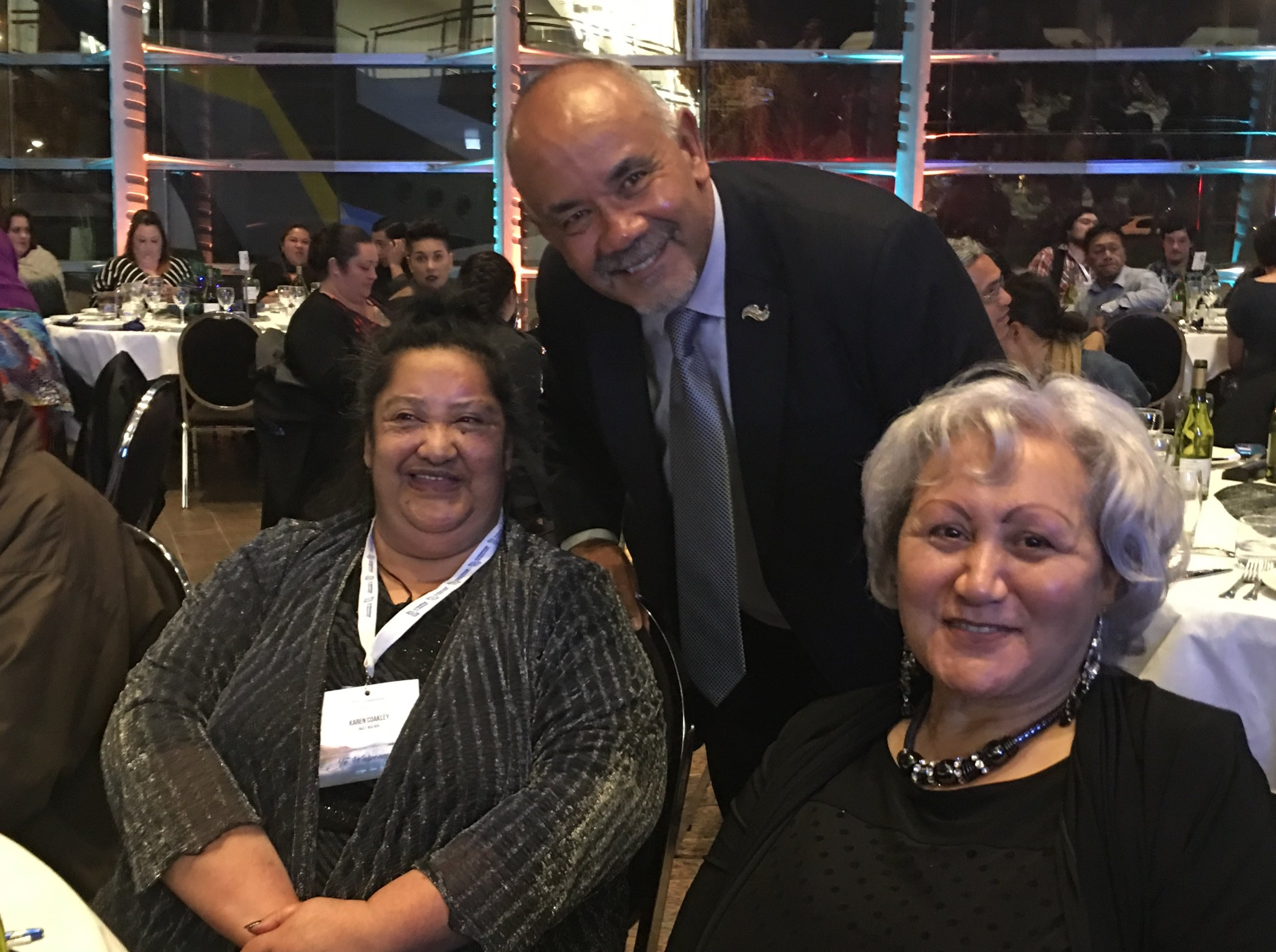 The Minister celebrated – and celebrating – with our beautiful Tai Poutini Taua