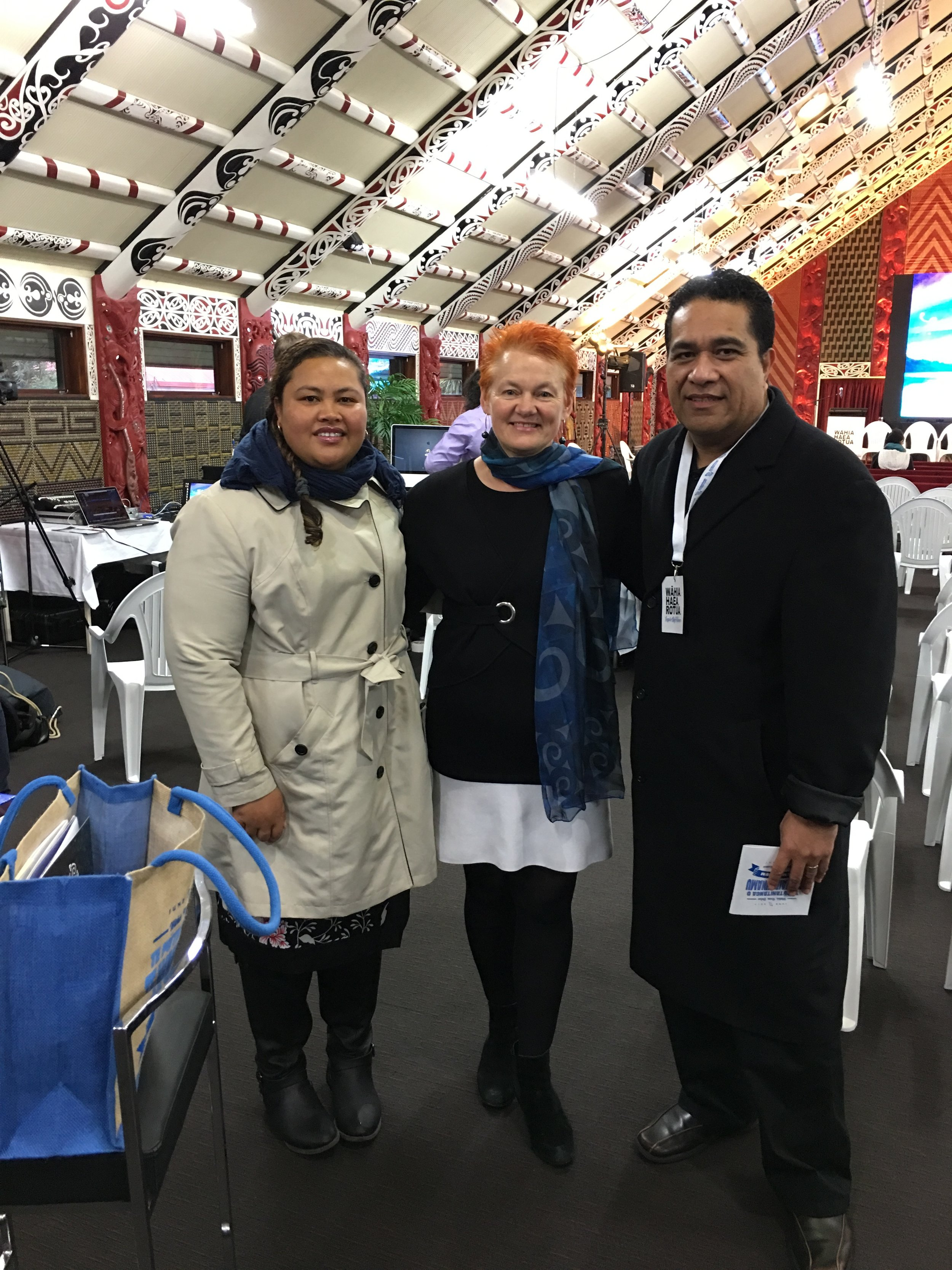 Sister Commissioning Agency Pasifika Futures was in the House