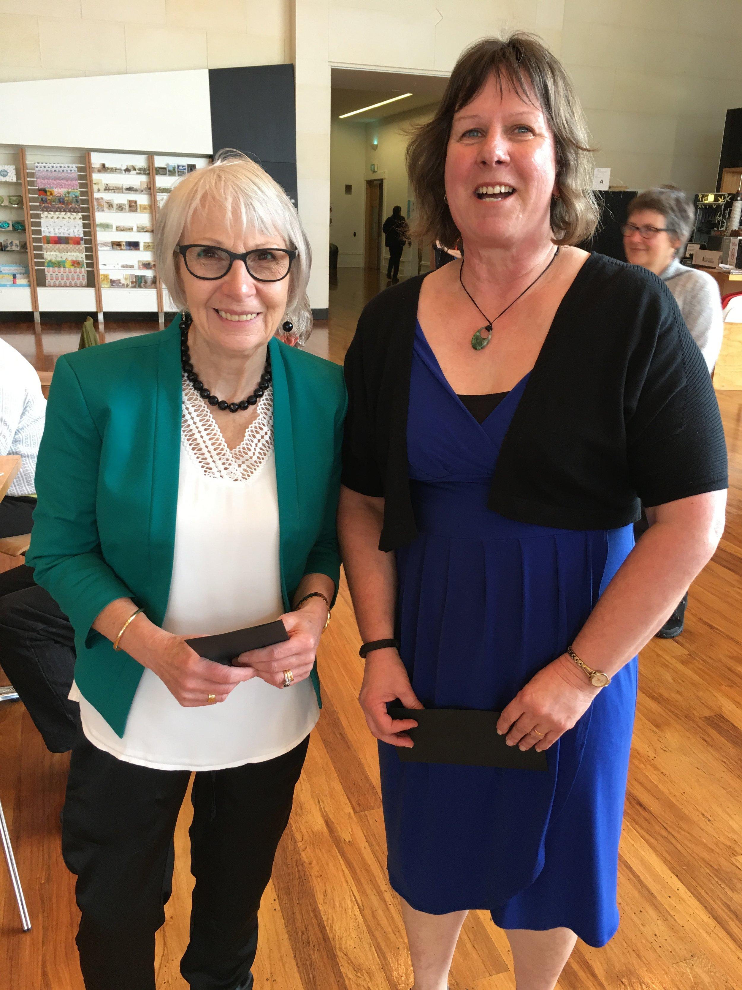 Joy Smith (Ngai Tahu Maori Law) and Sue (KTKO);  www.aukaha.co.nz