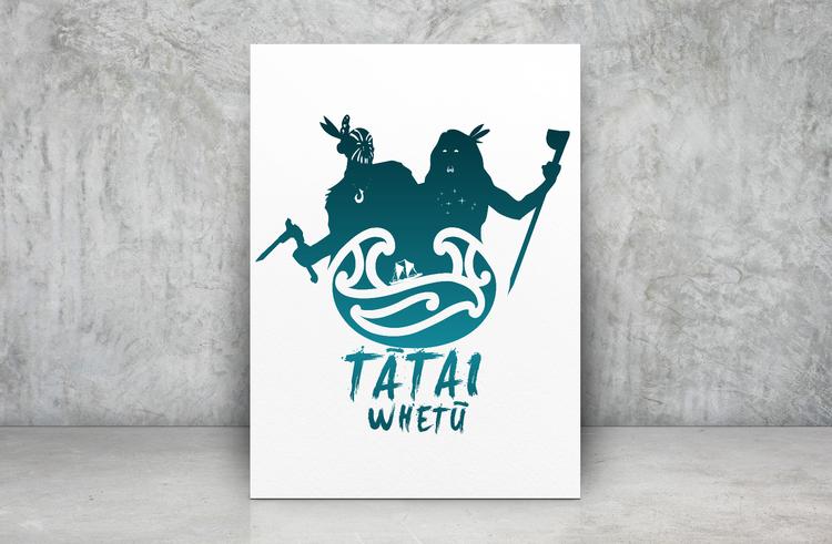The Tātai Whetu Brand for Whānau Ora Navigators by Māui Studios