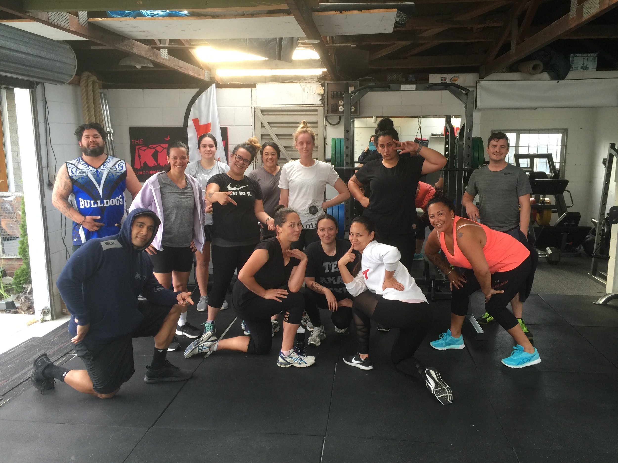 Kutt Functional Fitness in action