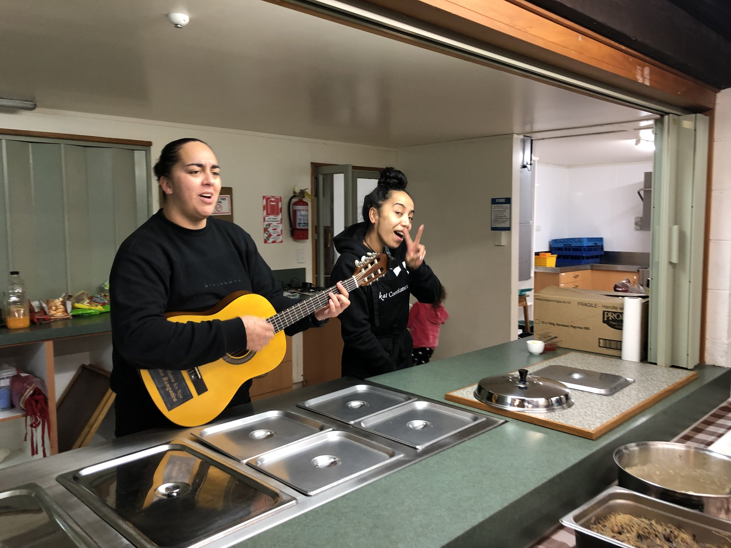 Ngāti Wheke in the Whare