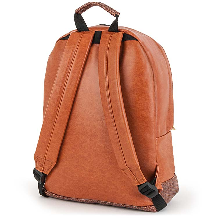 Leather Backpack Product Photography