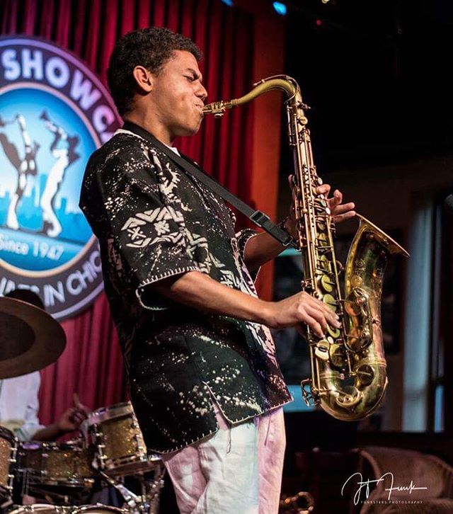 """""""A shoulder to lean on!"""" A great weekend finished at the Jazz Showcase in Chicago, IL. Thanks to all of my family who came out to support the music!!! 📸: Jim Funk"""