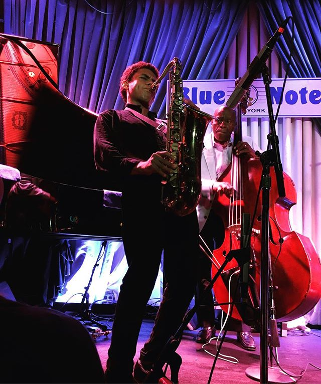 Chasing the Unknown!  A great second week at the Blue Note with the Wallace Roney Quintet!! Thanks for all of my friends and family who came out! 📸: @emily.norum