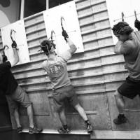 Lock-off training. (Photo: Rob Shaul)