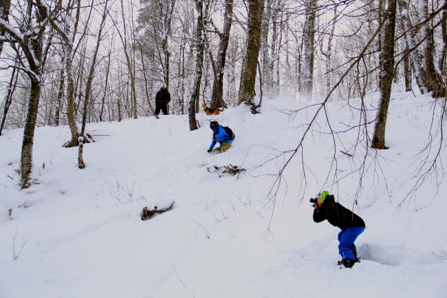 (Ryan Denning getting the shot. Skier: Ryan Kinner)